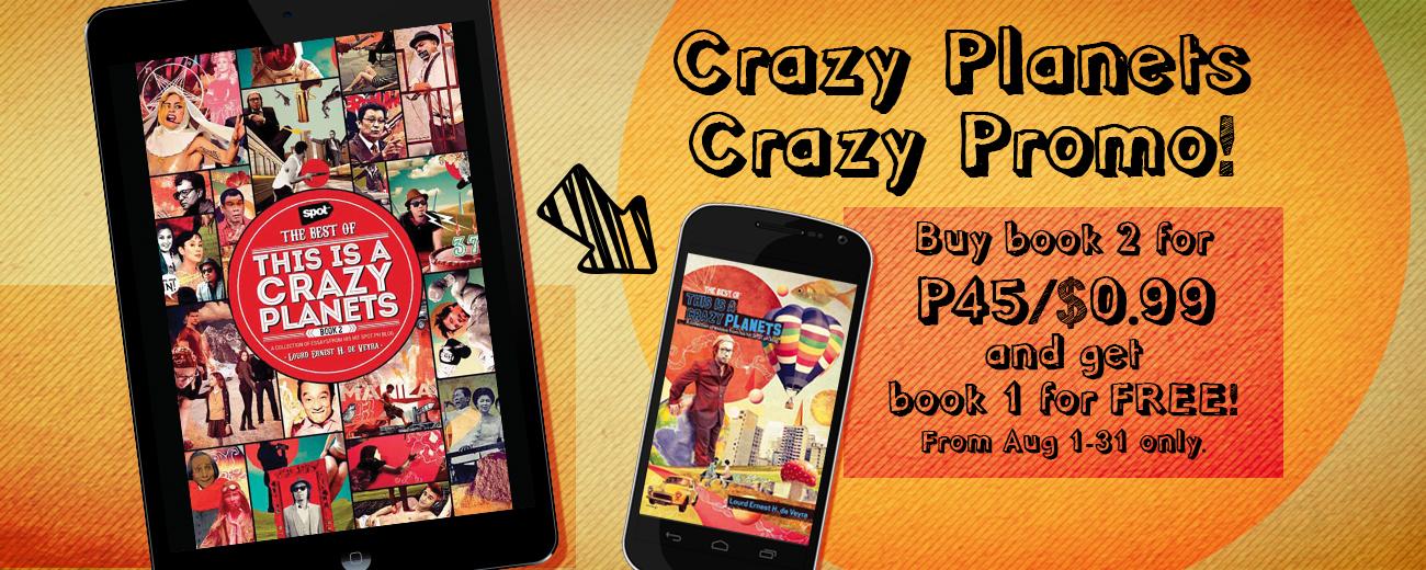 Crazy Planets Crazy Promo