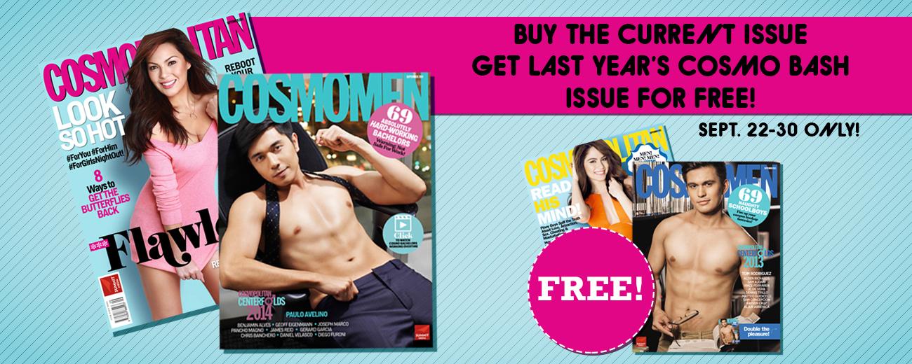 Cosmopolitan Buy 1 Get 1