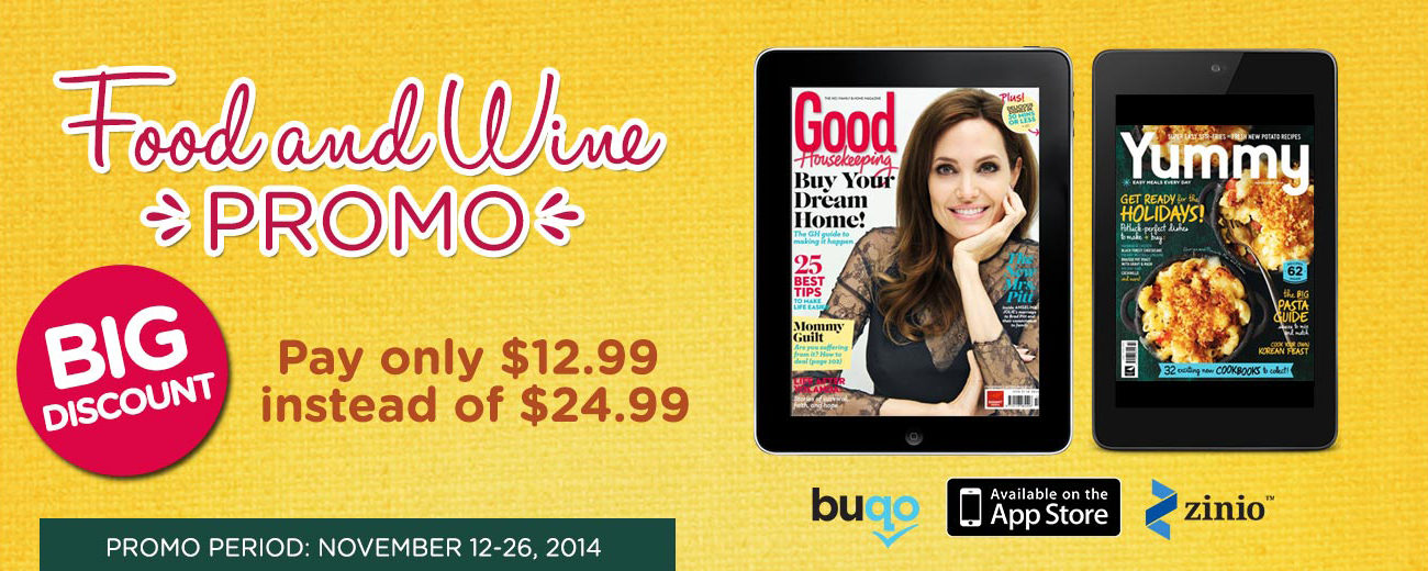 Food & Wine Promo