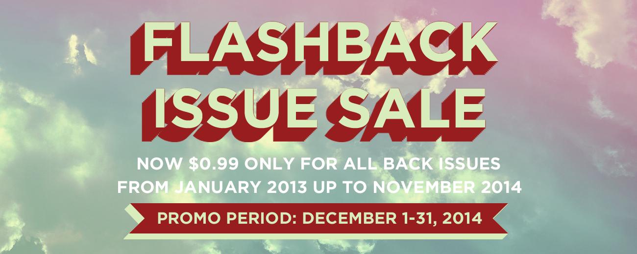 Flashback-Issue Sale