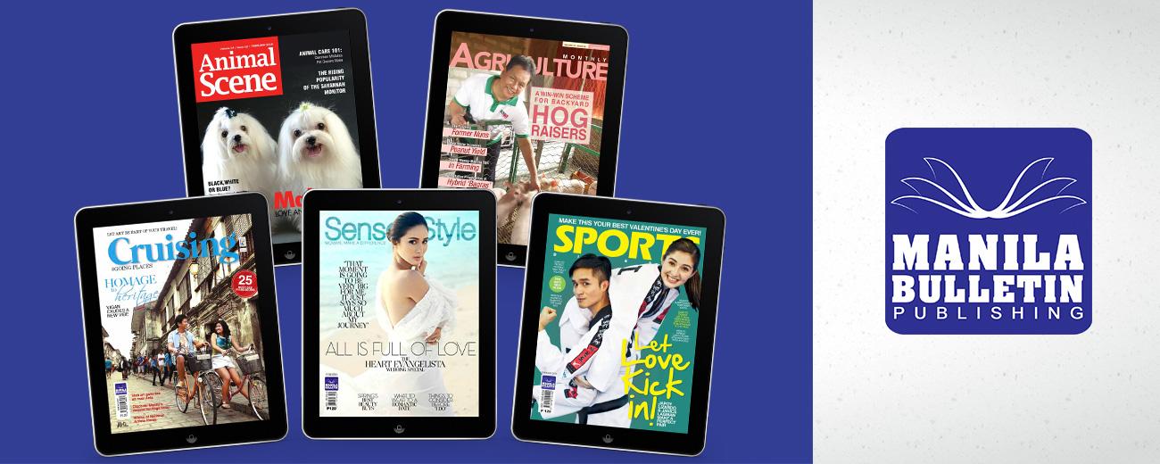 Manila Bulletin - Glossy Magazines