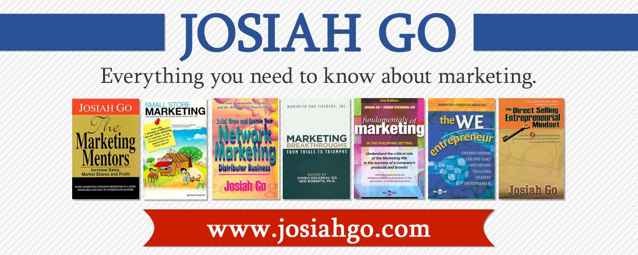 Josiah Go Exclusive Books