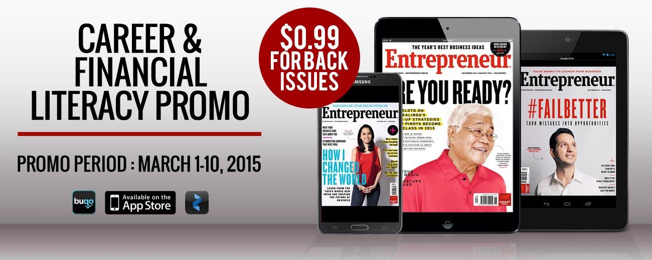 Entrepreneur Back Issues