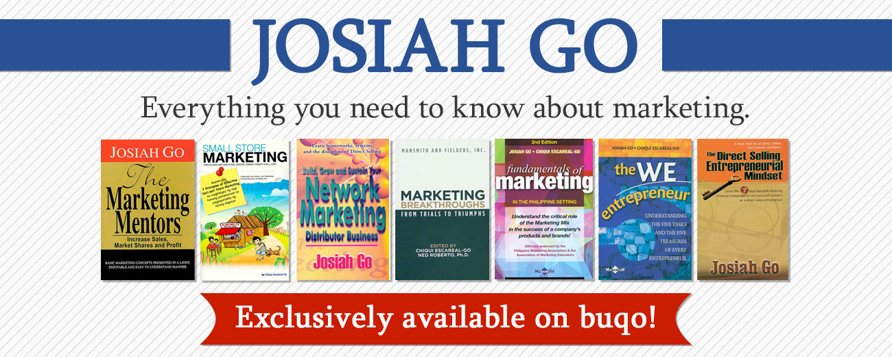 Josiah Go Marketing Books